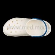 Медичні сабо Jose Amorales (Україна), біло-сині, жіночі