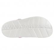 Медичні сабо Coqui (Чехія), жіночі, біло-рожеві