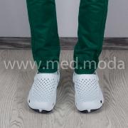 Медичні сабо JA (Україна), біло-сині, чоловічі
