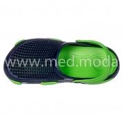 Медичні сабо Jose Amorales (Україна), синьо-зелені