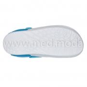 Медичні сабо Jose Amorales (Україна), біло-блакитні, жіночі