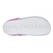 Медичні сабо Jose Amorales (Україна), біло-рожеві, жіночі
