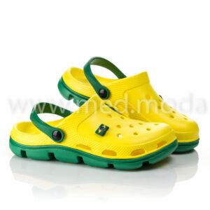 Медичні сабо Jose Amorales (Україна), жовто-зелені, жіночі