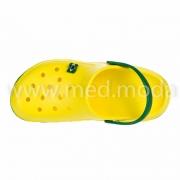 Медичні сабо JA (Україна), жовто-зелені