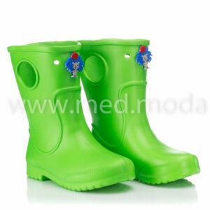 Гумові чоботи JA (Україна), дитячі, салатові