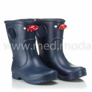 Гумові чоботи JA (Україна), дитячі, темно-сині