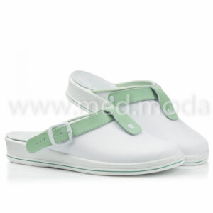 Медичні сабо Tellus (Молдова), біло-зелені