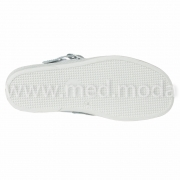 Медичні сабо Tellus (Молдова), біло-блакитні + перфорація