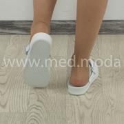 Медичні сабо Tellus (Молдова), білі + перфорація