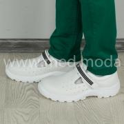 Захисні медичні черевики Tellus (Молдова), білі