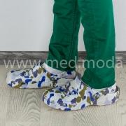 Медичні сабо Coqui (Чехія), чоловічі, камуфляж