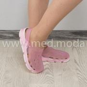 Медичні сабо Coqui (Чехія), жіночі, рожево-білі