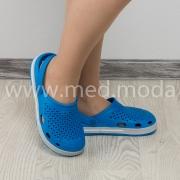 Медичні сабо Coqui (Чехія), жіночі, блакитні