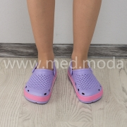Медичні сабо Coqui (Чехія), жіночі, фіолетові