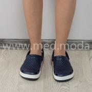 Медичні сабо Coqui (Чехія), жіночі, темно-сині