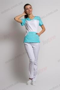 Медичний костюм (Україна), жіночий